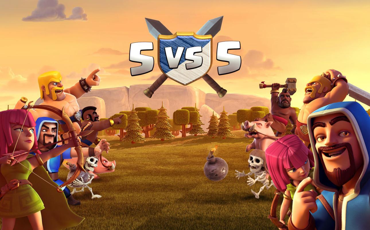 5 vs 5のクラン対戦がもうすぐリリース!